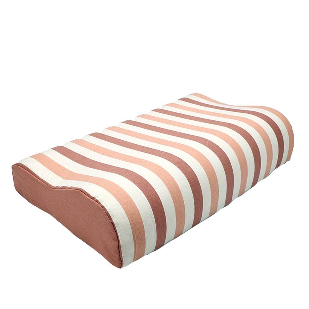 WeiLuShop Speicher Baumwolle Kissen Schutz zervikalen einzelnen 19x11,8 Zoll Schlafkissen (Farbe : Farbe1)