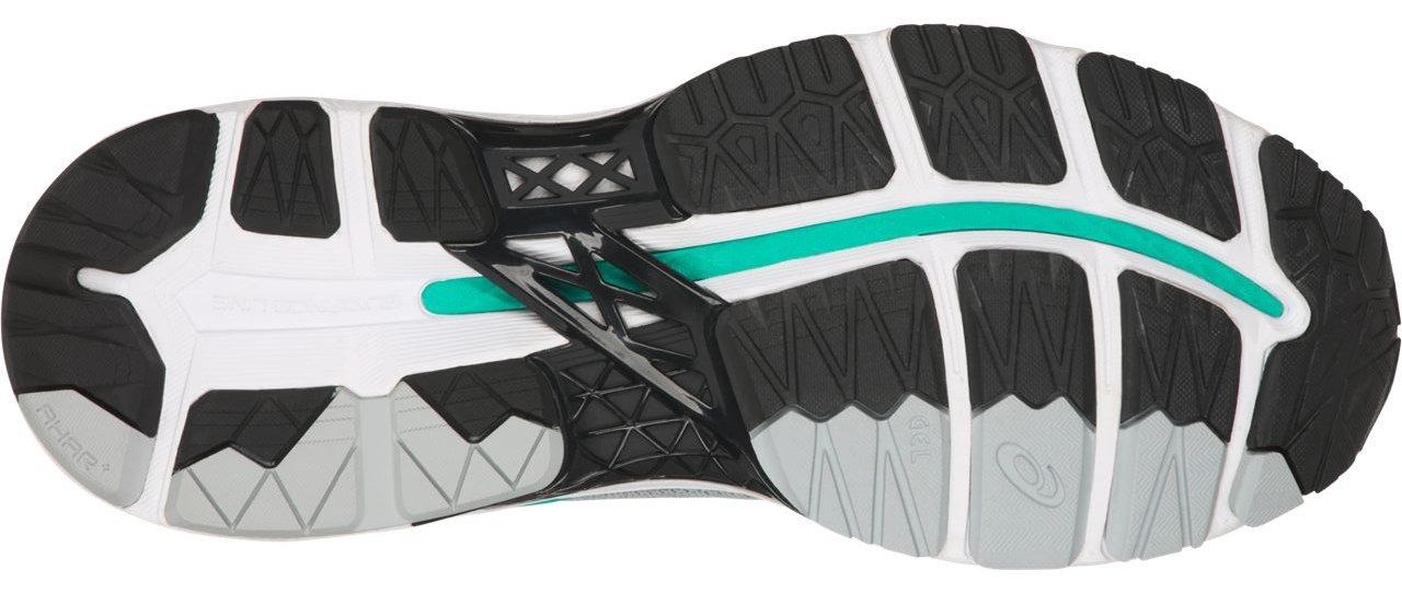ASICS Women's Gel-Kayano 24 Running Shoe, Mid Grey/Black/Atlantis, 9 Medium US by ASICS (Image #3)