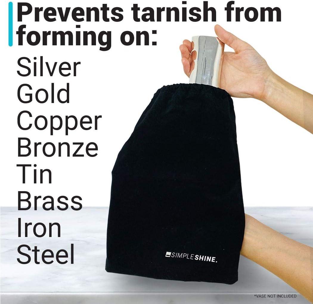 Bolsa de almacenamiento antideslustre | Bolsas de tela para ...
