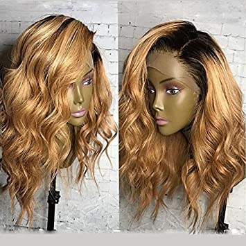 KRN Ombre 1B/27 Honey Blonde Lace Front Wigs