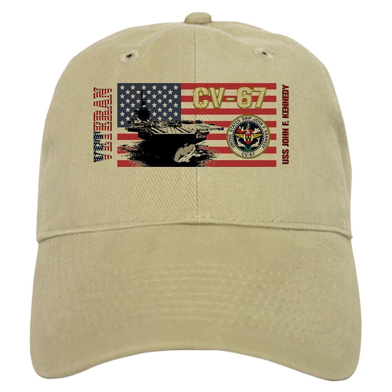 Amazon CafePress CV 67 USS John F Kennedy Baseball Cap With