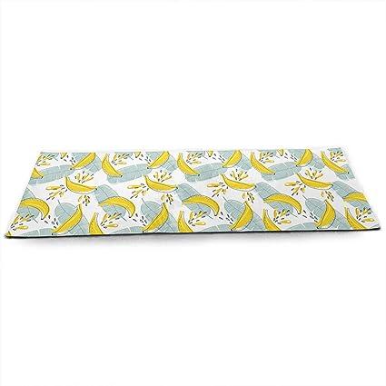 Amazon.com : TAOHJS76 Pro Non Slip Yoga Mat, Bananas Pattern ...