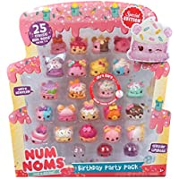 Num Noms Birthday Party 25pc Pack (Includes Ultra Rare Glitter Connie Confetti)