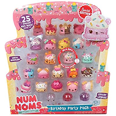 Num Noms Birthday Party 25pc Pack (Includes Ultra Rare Glitter Connie Confetti) - 4039860 , B075QKF2DT , 454_B075QKF2DT , 66.9 , Num-Noms-Birthday-Party-25pc-Pack-Includes-Ultra-Rare-Glitter-Connie-Confetti-454_B075QKF2DT , usexpress.vn , Num Noms Birthday Party 25pc Pack (Includes Ultra Rare Glitter Connie Confetti)