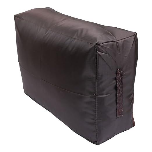 Amazon.com: DealMux domésticos Zipper Encerramento Roupa Quilts armazenamento saco titular Organizador cor de café: Home & Kitchen
