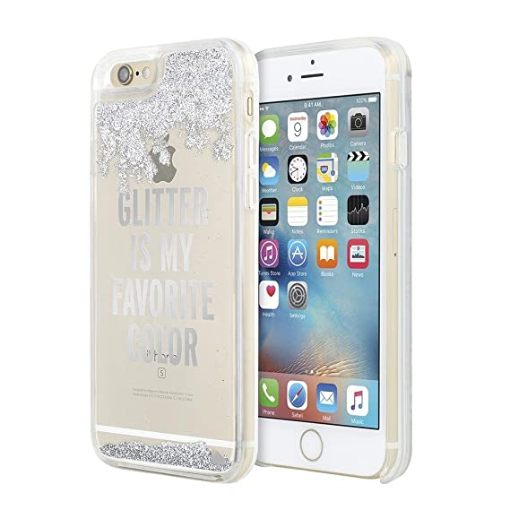 new concept e5e00 4a35f Kate Spade New York Clear Liquid Glitter Case for iPhone 6 / 6s -