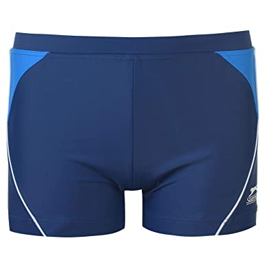 4b17e18f91d08 Slazenger Kids Swimming Boxers Junior Boys Trunks Swimwear Swim:  Amazon.co.uk: Clothing