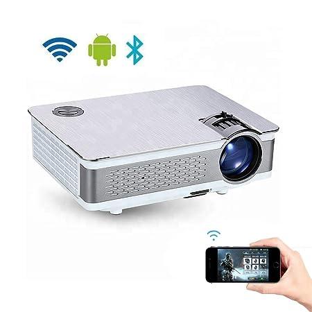 HD1080P Proyector LED, 3800 Lúmenes Multimedia Soporte Para ...