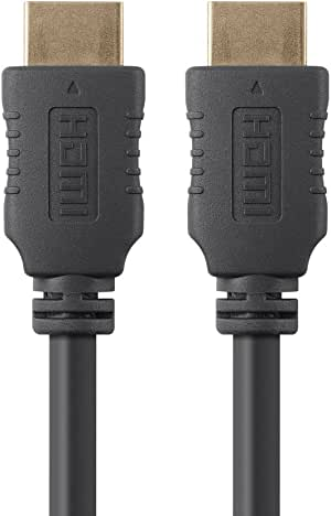Monoprice HDMI High Speed Cable - 6 Feet -  Black, 4K@60Hz, HDR, 18Gbps, YUV 4:4:4, 28AWG - Select Series