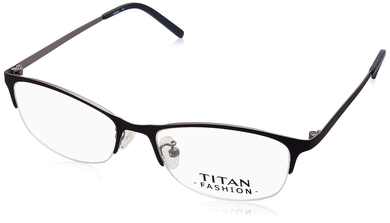 575a5180d7 Titan Half Rim Cat Eye Unisex Spectacle Frame - (T2473B1A1