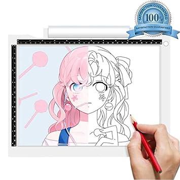 YELLOL Bloc De Dibujo Conveniente LED De Brillo Dibujo ...