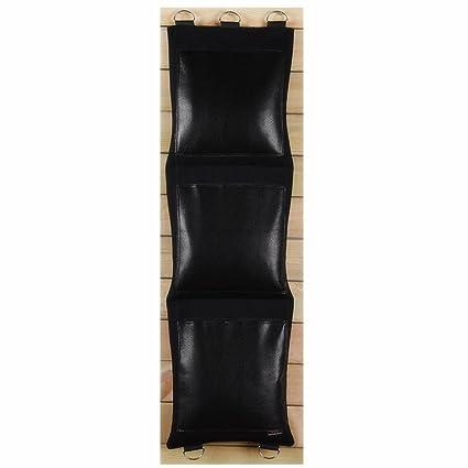 Negro Canvas Punching wallbag para Wing Chun mandril de puño práctica diferentes estilo Opción (piel