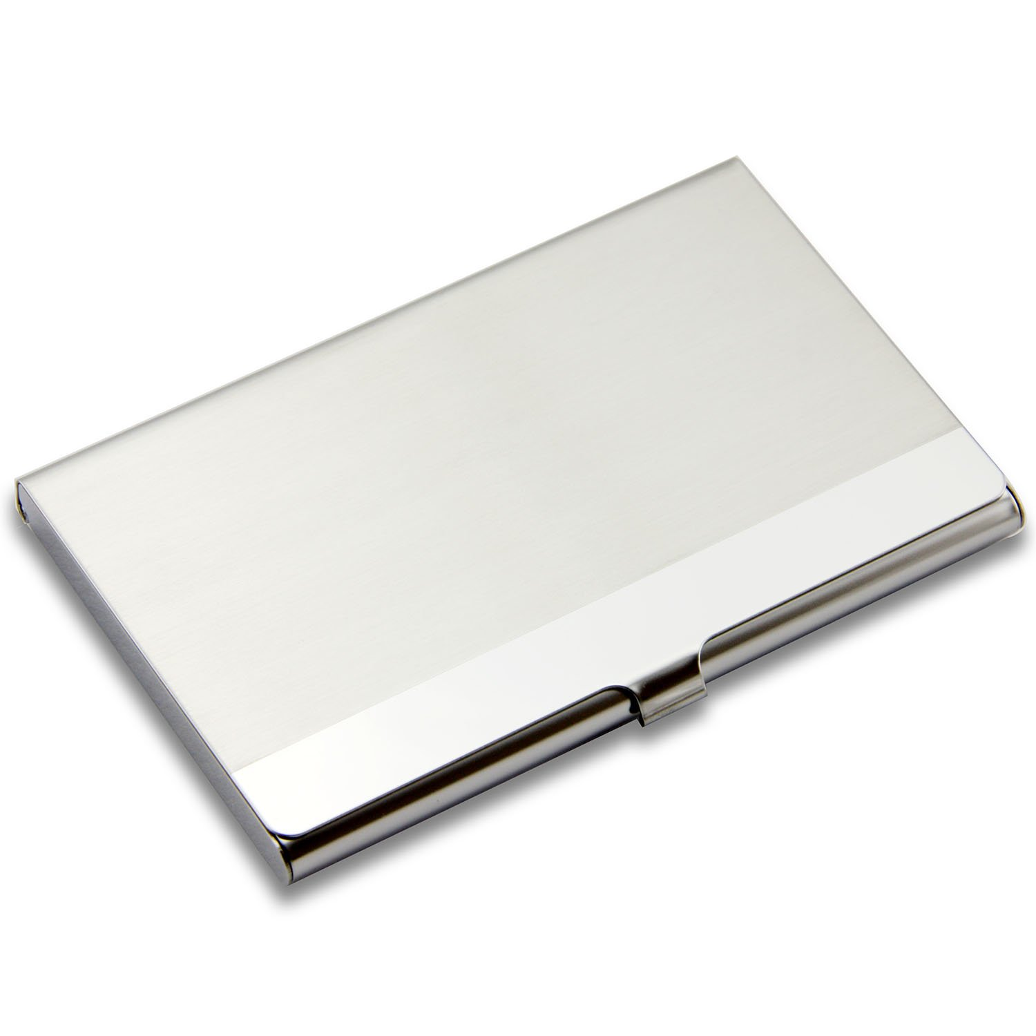Amazon.com : Partstock(TM) Business Card Holder - Stainless Steel ...