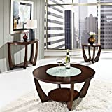 Steve Silver Company Rafael 3 Piece Cocktail Table Set in Cherry Review
