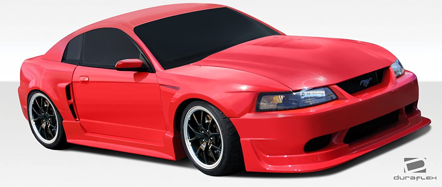 Amazon com duraflex cbr500 body kit ford mustang 1999 2000 2001 2002 2003 2004 automotive
