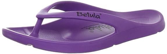 Betula Energy 083641 - Zuecos para mujer, color morado, talla 39