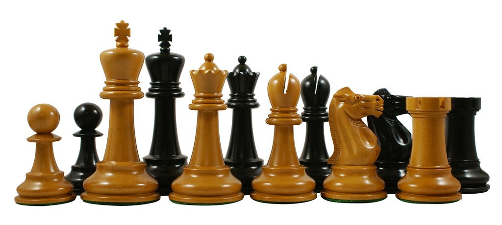 Jaques Reproduction 1870-75 Edition Staunton 4.4'' Premium Chess Set