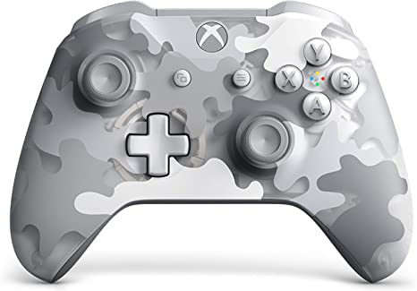 Microsoft - Mando Inalámbrico, Arctic Camo (Xbox One): Amazon.es ...