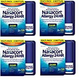 Nasacort Allergy 24 Hour, 16.9 ml, tNwune 4 Pack (240 Sprays)