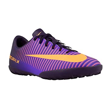 b25873be54 Chuteira Infantil Nike Mercurial Vapor XI TF Society  Amazon.com.br ...