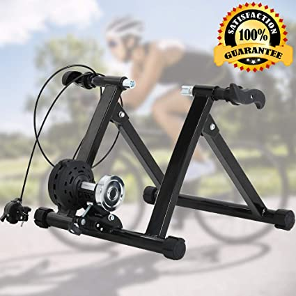 Soporte De Bicicleta Para Entrenamiento De Bicicleta Soporte De Ejercicio Para Bicicleta De Interior Y Exterior Para Carretera Y Bicicleta De Montaña Soporte De Entrenamiento Para Ruedas Magnéticas De 26