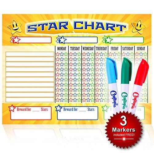 kids star chore chart - 8