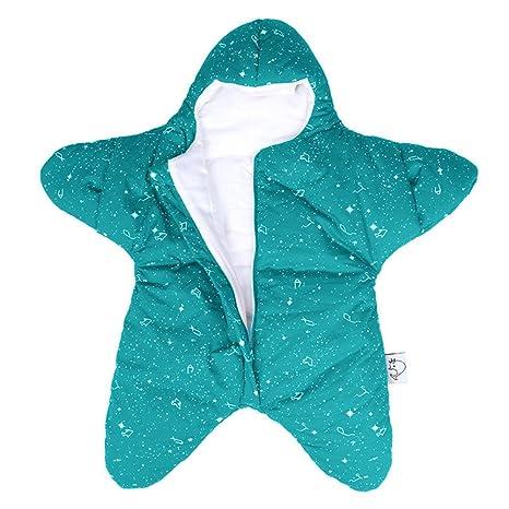 kuuboo algodón bebé saco de dormir de Estrellas Super suave Recién Nacido saco de dormir Saco ...