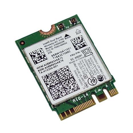 Intel 802.11ac AC3160 3160NGW NGFF M.2 2.4G 433M 5G hotspot ...