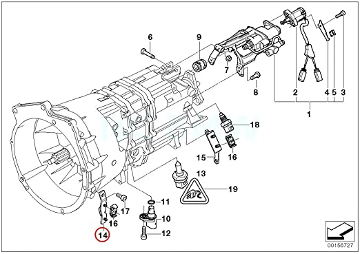 Amazon Com Bmw Genuine Hose Line Bracket Automotive