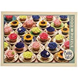 Cobble Hill Cupcakes and Saucers, 1000-Piece