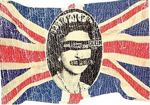Sex Pistols Union Jack Official Postcard (15Cm X 10Cm) -