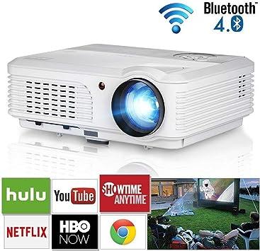 Sistema de Cine en Casa WiFi Proyector Bluetooth 4200 Lumen ...