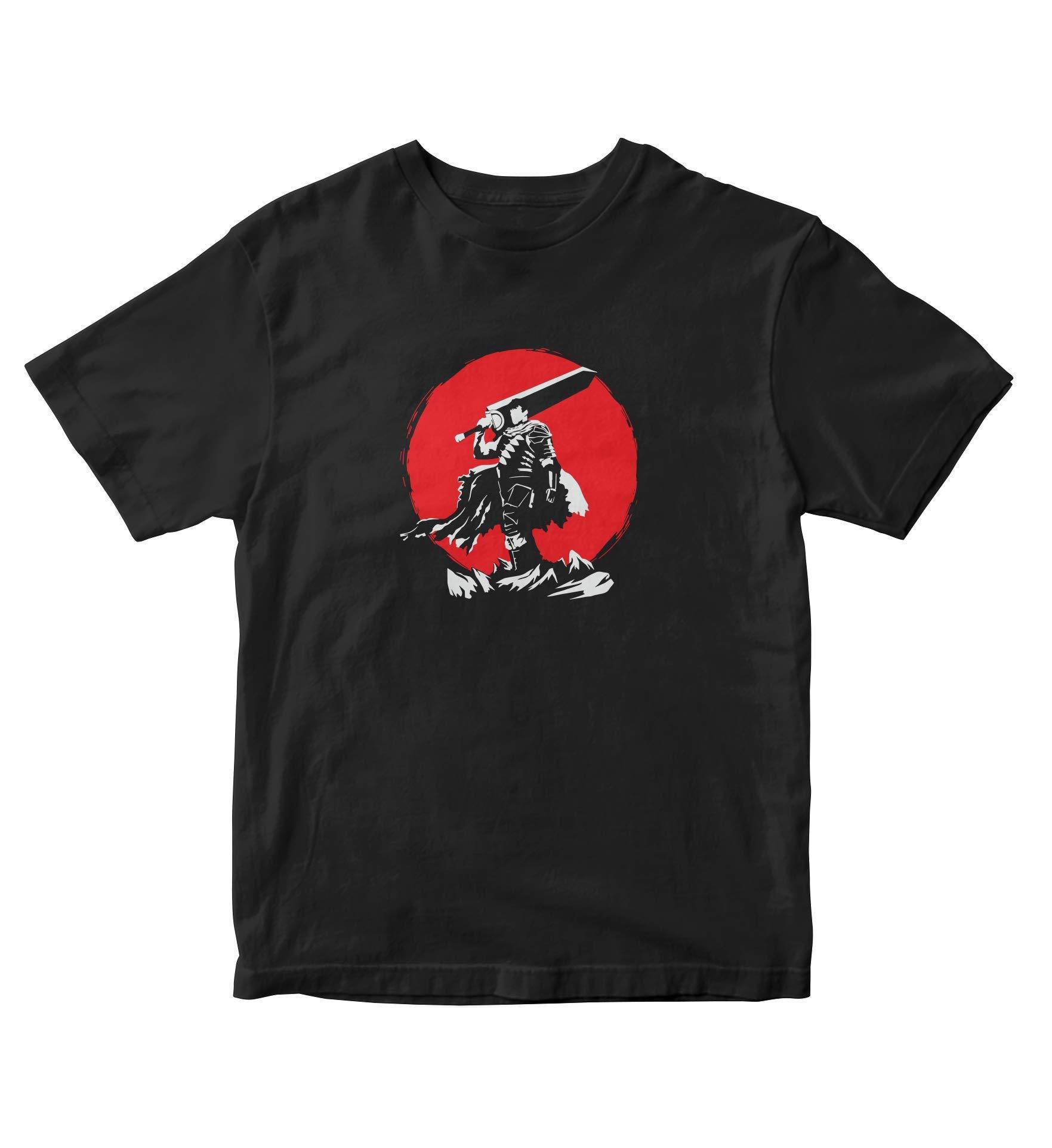 Berserk Guts Sunset Berserk T Shirt Adult S Anime Manga A675