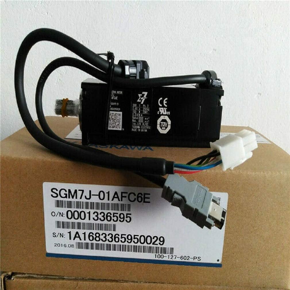 中慣性、高速、サーボモータ SGM7J-01AFC6E Sigma-7シリーズ ACサーボモーター200V、100W、0.318NM、3000r/min モーター