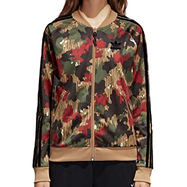 6654f1d1 Amazon.com: adidas Originals Pharell Williams Camouflage Women's Track  Jacket: Clothing