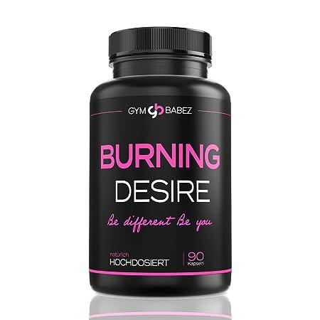 Burning Desire [Beliebt in der Diät] » Speziell für Frauen - Hochdosiert mit L-Carnitin, Grüner Tee « F-Burn Woman Tabletten/
