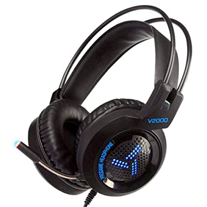Amazon com: Gaming Headsets,Internet Cafe Light Headphones Computer