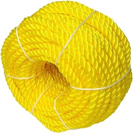 Cuerda De Nylon Amarilla, Cuerda De Escalada De Plástico ...