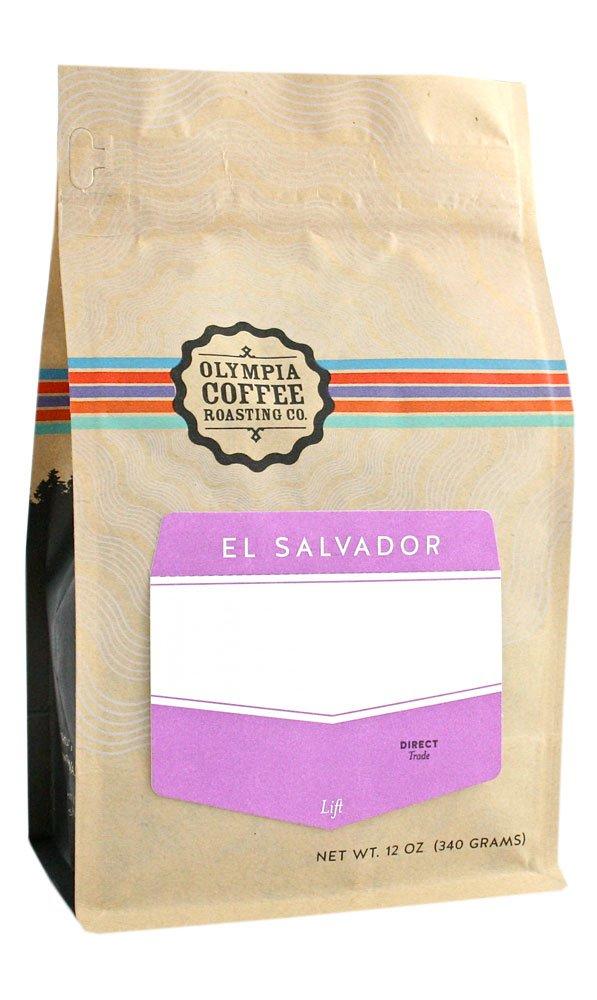 Olympia Coffee ''Little Buddy Blend'' Medium Roasted Shade Grown Whole Bean Coffee - 5 Pound Bag