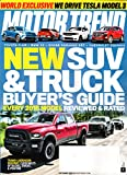 Motor Trend Magazine October 2017 | New 2018 SUV & Truck Buyer's Guide