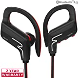 Amazon Price History for:Jowtte Bluetooth Headphones Wireless In Ear Earbuds V4.1 Stereo Noise Isolating Sports Sweatproof Headset with Mic, Premium Bass Sound - Black
