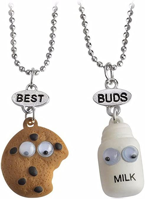 Best Friends Necklace for Unisex-Child, Girls,Boys