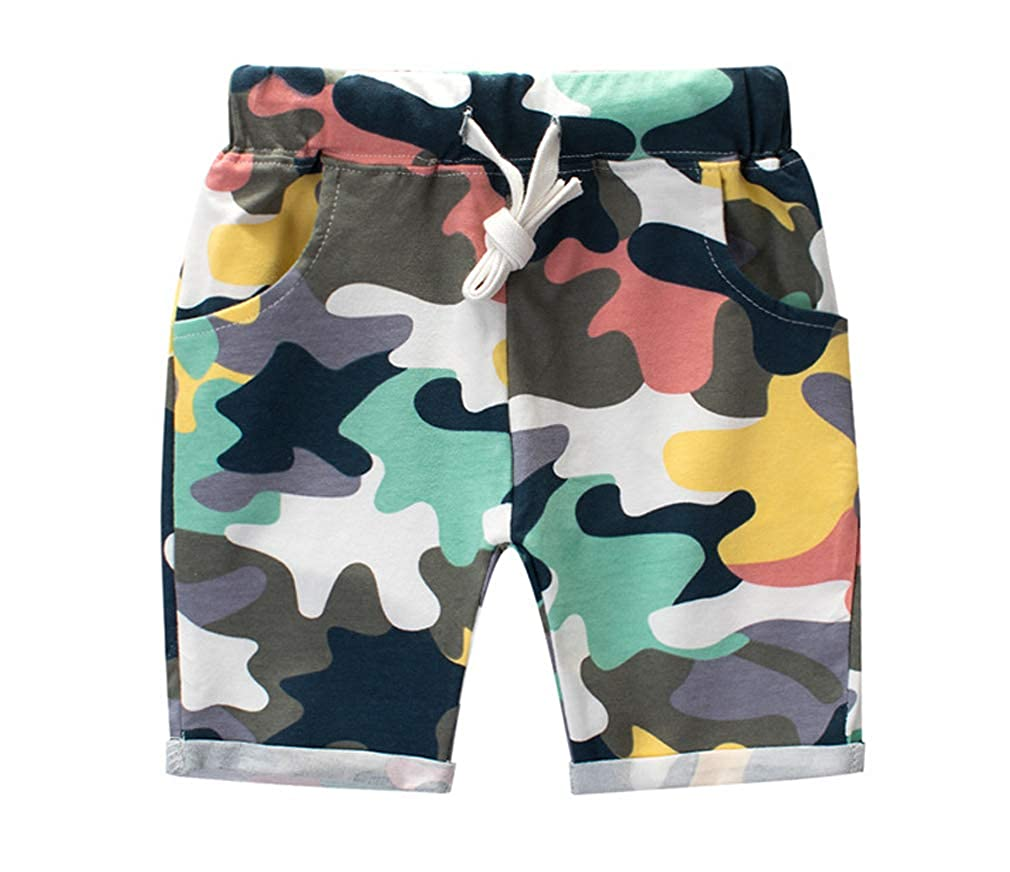 Autism Awareness Hands in Heart Men Sport Solid Baggy Pockets Short Pant
