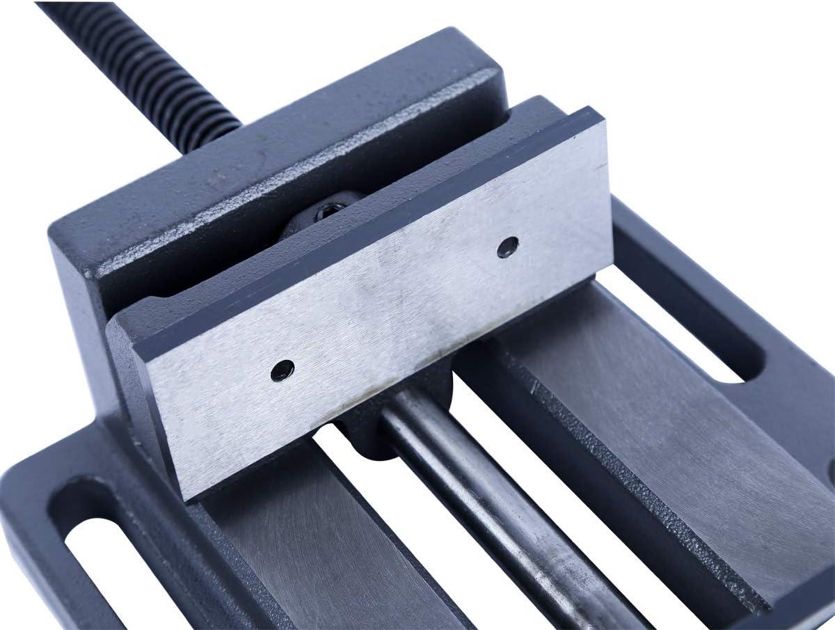 4 pulgadas Tornillo de banco de taladro de prensa profesional de alta calidad con barra de gu/ía de 100 mm