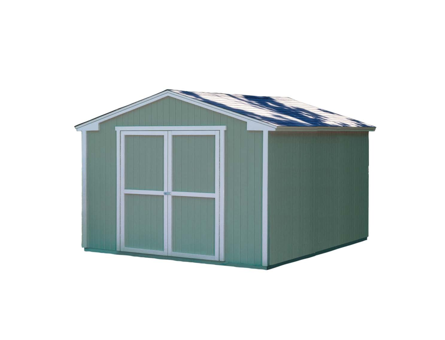Handy Home Products 10-Feet by 12-Feet Cumberland Shed with Floor