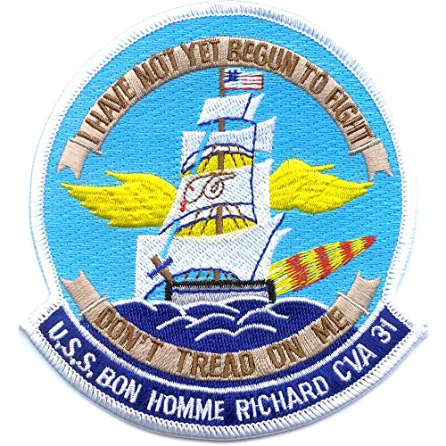 CVA-31 USS Bon Homme Richard Patch - Version B