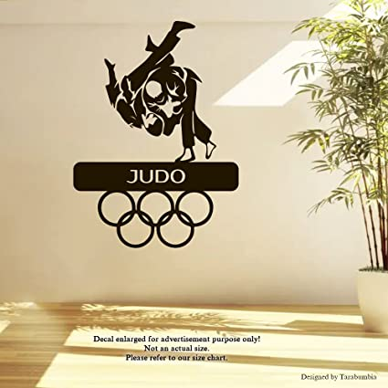 Amazon com: Sport Judo Wall Decals Olympic Games Stickers Decorative