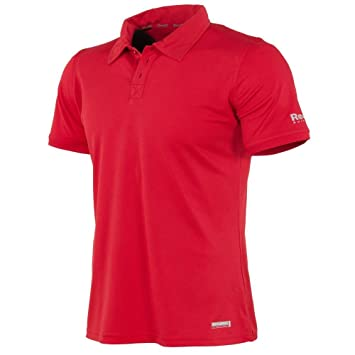 Reece Hockey Darwin ClimaTec Polo Unisex - Bright Red, Größe Reece:128