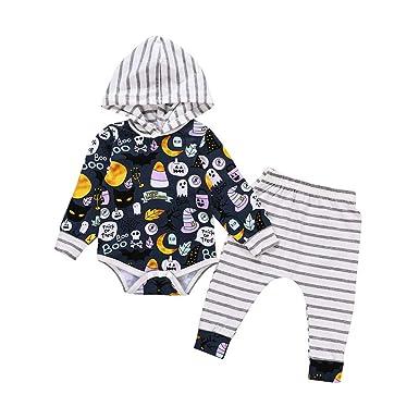 Wang-RX Conjunto de Ropa de Halloween Baby Boy Girl Trajes ...