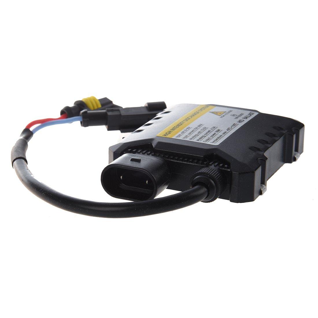 TOOGOO Mince 35W Xenon HID numerique de remplacement Ballast electronique Conversion Kit pour H1 H3 H4 H7 H8 H9 H11 9005 9006 9004 9007 H13 R